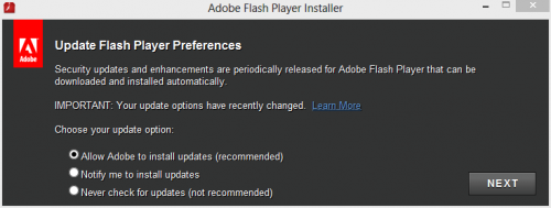 Flash-update-prefs