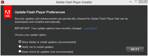Flash-update-prefs